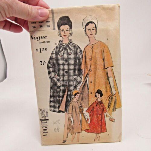 Vintage Pattern Vogue Special Design # 4137 SZ 14 Bust 34 FF/Complete