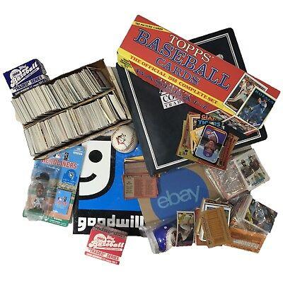 5LB Sports Cards lot - Vintage Baseball collectibles - Huge Memorabilia Gift set](Vintage Baseball Gifts)