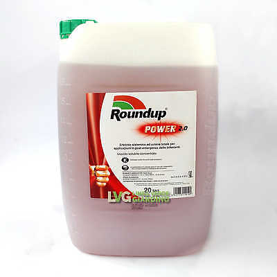 ROUNDUP 360 POWER 2.0 Weed killer Herbicide Glyphosate 20 L