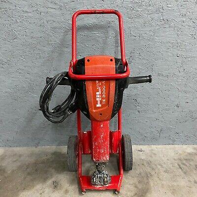 Hilti Te 3000-avr W Cart Demolition Jack Hammer Concrete Breaker