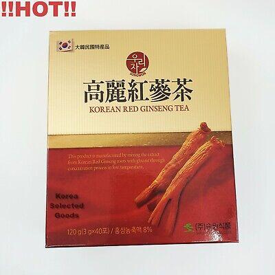 [SONGWON] KOREAN RED GINSENG TEA 3g x 40ea (120g) Anti Stress Fatigue Health