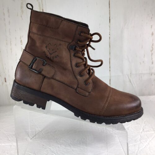 Polar Fox  MPX-508006 Brown Men's Military style Boots Size