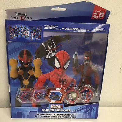 Disney Infinity 2.0 Marvel Spider-Man Power Disc Album Bundle (Marvels Power Disc)