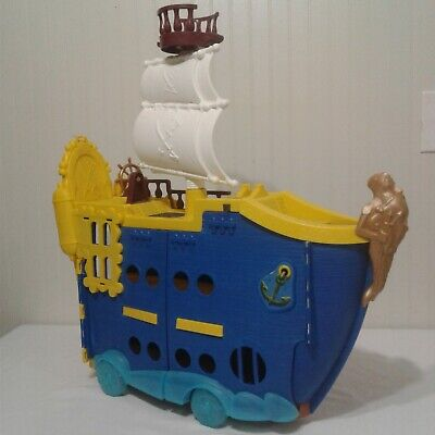 Jake And The Neverland Pirate Ship (Fisher Price Jake and the Neverland Pirates Mighty Colossus Ship On)