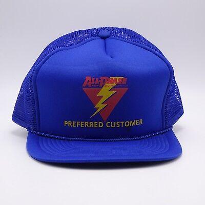 All Phase Electric Trucker hat - Preferred Customer Snapback cap - foam front