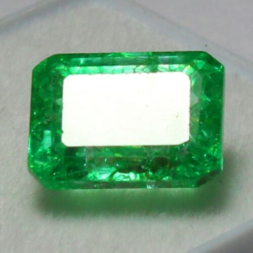 Certified 6.00 Ct+ Natural MUZO Colombian Emerald Unheated Loose Gemstone 11x8mm