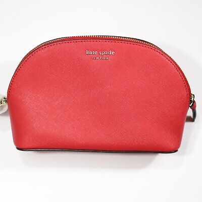 Kate Spade New York Red Cosmetic Bag   NWT