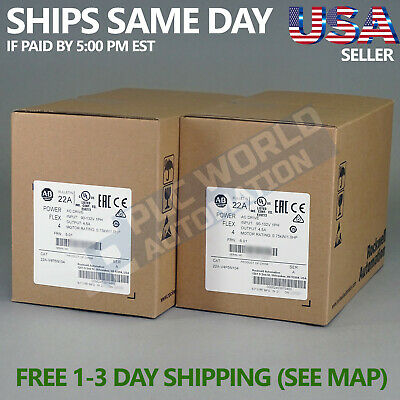 2019 New Factory Sealed Allen Bradley 22a-v4p5n104 Ser A Powerflex 4 Ac Drive