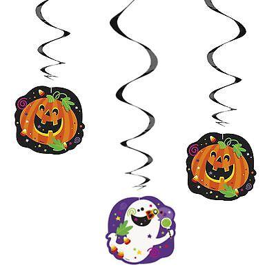 Luftschlangen Party Dekoration froh Haloween Packung mit 3 (Haloween Dekoration)