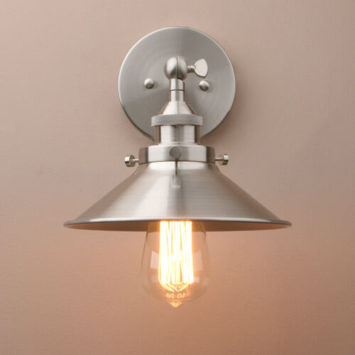 PATHSON VINTAGE INDUSTRIAL STYLE SCONCE IRON WALL LAMP COFE
