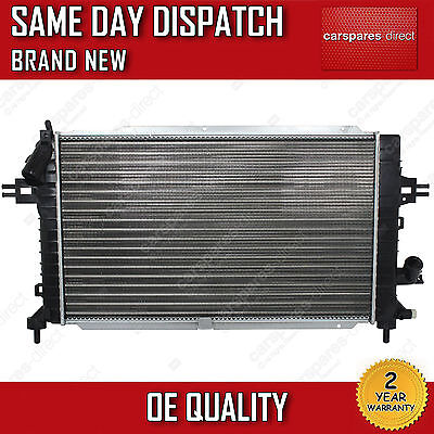 VAUXHALL ASTRA H / ZAFIRA B 1.3 1.7 1.9 2.0 DIESEL MANUAL RADIATOR 2004>ONWARDS