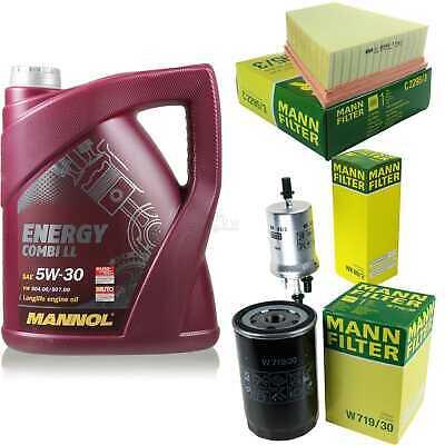 Inspection Set 5L Mannol Energy Combill 5W30 Motor Oil + Mann Filter 10767226