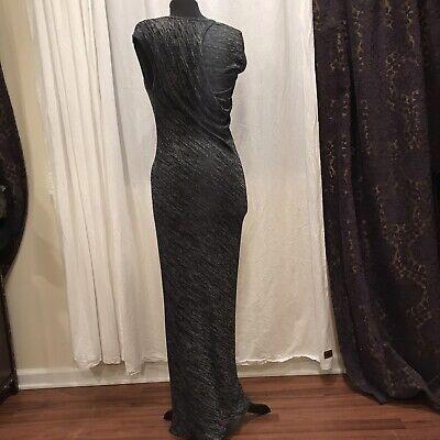 T ALEXANDER WANG Dark Jersey Maxi Long Dress Size Medium