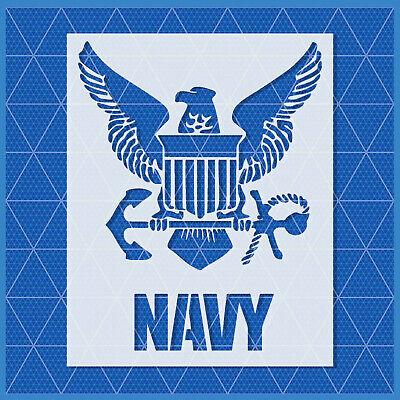 14x11-11x8.5-5x4 Army Square stencil US U.S Reusable Mylar