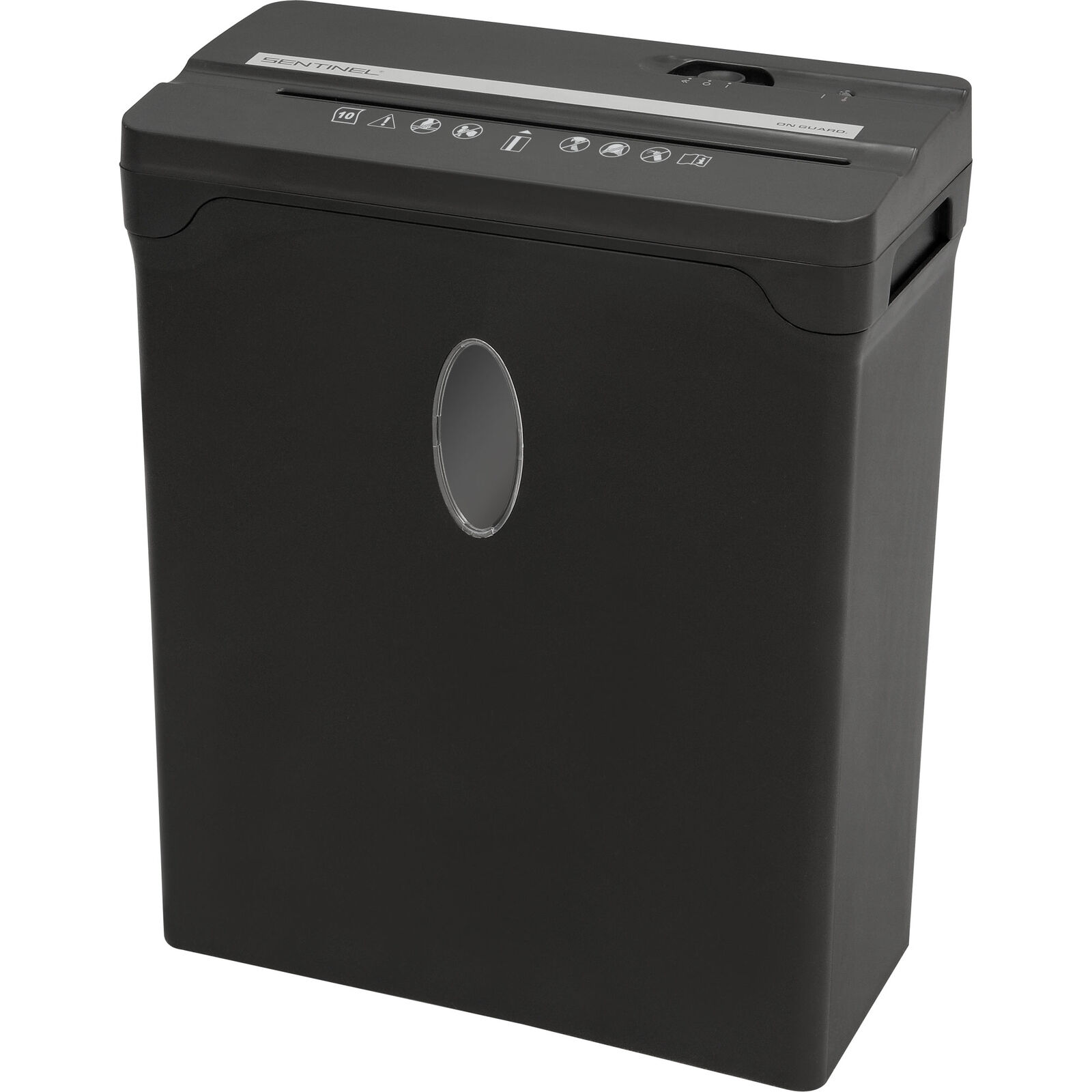 Sentinel Fx101b 10-sheet High Security Cross-cut Papercredit Card Shredder