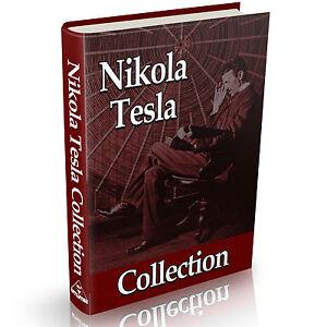 Nikola Tesla Collection Of Books Vintage Books On Dvd