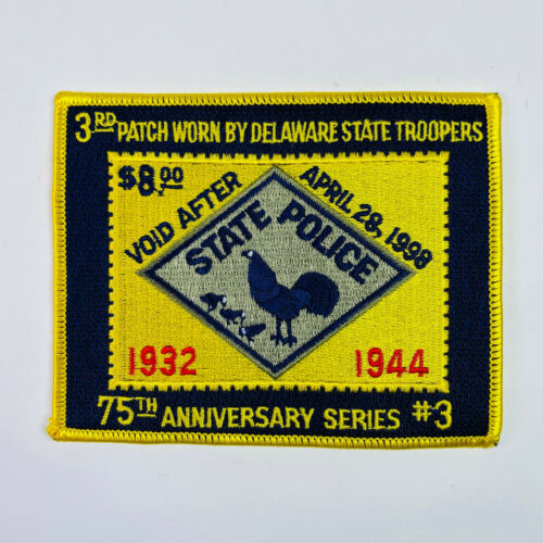 75th Anniversary Series 3 Delaware State Police Patch