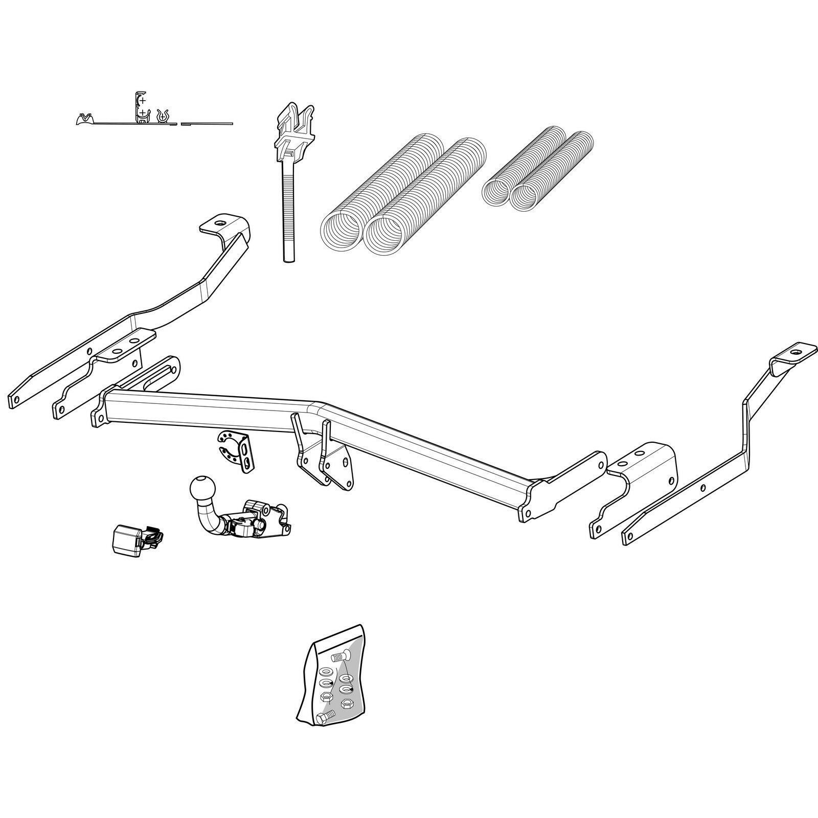 Vauxhall Tow Bar Wiring