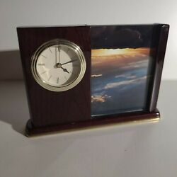 Howard Miller Portrait Caddy Table Clock 645-498- USED GREAT GIFT!