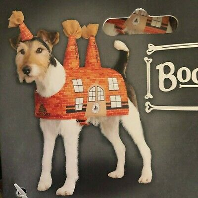 Bootique 'Poop Factory' Dog Costume with Hat Halloween Party Dogs Fun NWT NEW](Hat Factory Halloween Party)