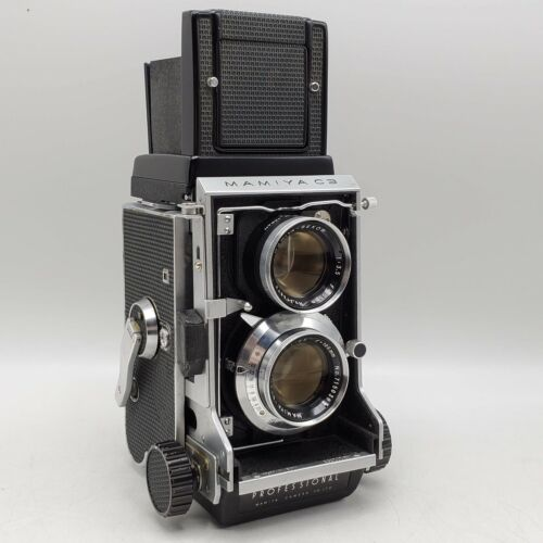 Mamiya C3 Professional 6x6 Medium Format TLR Camera 105mm F3.5 Twin Lenses *READ
