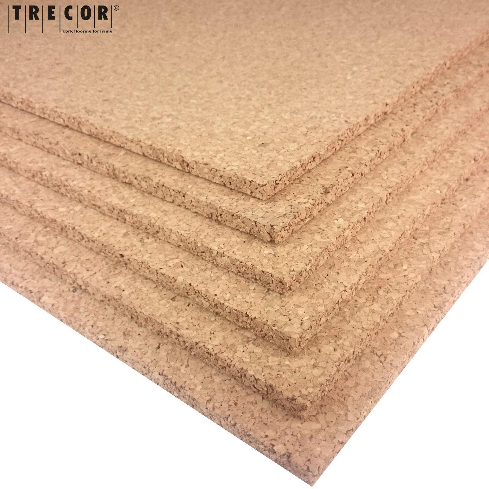 trecor Pinnwand Korkplatten 2 - 20 mm Stark -XXL-Format: 100 x 50 cm - TOPSELLER