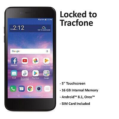 Tracfone LG Rebel 4 4G LTE Prepaid Cell Phone (Refurbished)