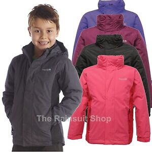 REGATTA-OBSTACLE-WATERPROOF-KIDS-RAIN-COAT-JACKET-BOYS-GIRLS-AGE-3-12YRS