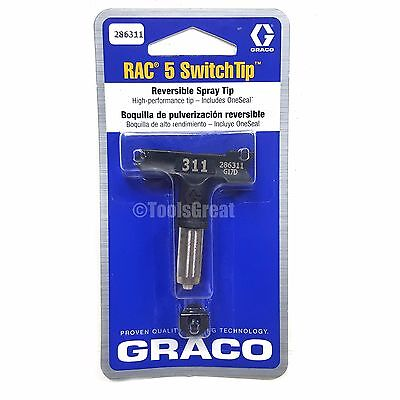 Graco Rac 5 286311 Switch Tip Paint Spray Tip Size 311