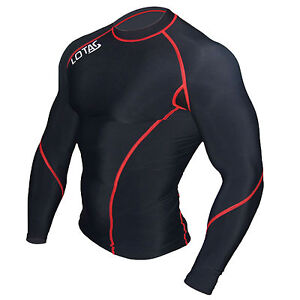 Mens-Thermal-Compression-base-layer-Long-sleeve-Top-Body-Armour-Cold-Wear-shirt