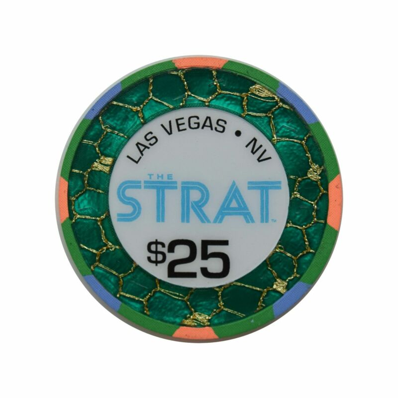 The Strat Casino Las Vegas NV $25 Chip 2019