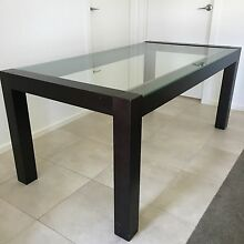 Glass top Dining Table with 6 chairs! Langwarrin Frankston Area Preview