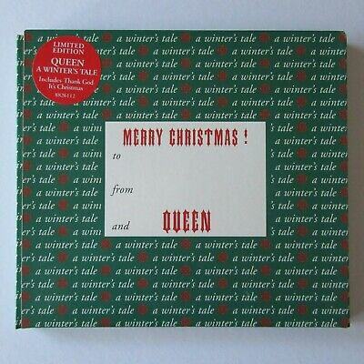 QUEEN - A Winters Tale - CD Single Christmas Box Digipak (1995) NEW & SEALED