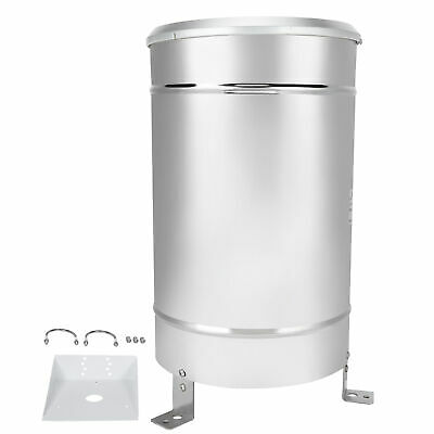 Rain Sensor Stainless Steel Simple Tipping Bucket Rain Gauge Rainfall Practical