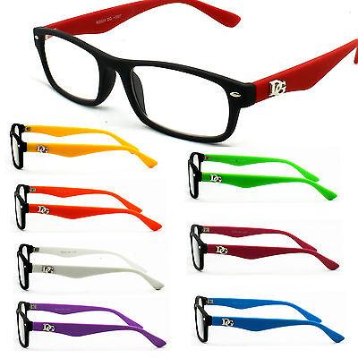 Colorful DG Reading Glasses Fun Colorful Classic Eyewear Optical Quality - Glasses Fun