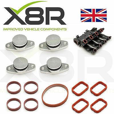 4X 22MM FOR BMW DIESEL SWIRL FLAP BLANKS REPAIR WITH INTAKE MANIFOLD GASKETS