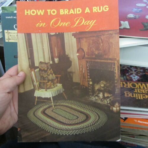 (Book) Vintage-How to Braid a Rug in One Day Pattern 1949