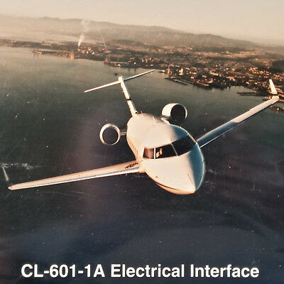 Challenger CL-601-1A  Electrical Interface Maintenance Training Manual