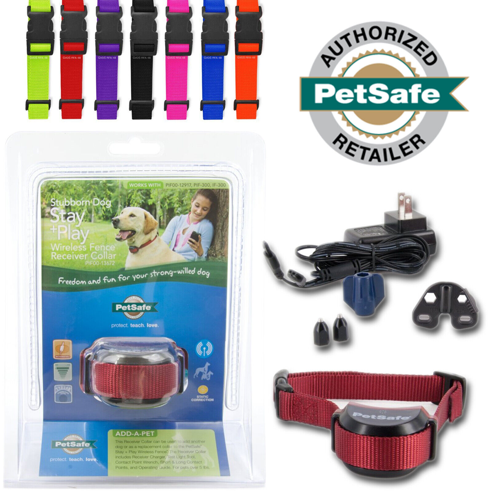 petsafe-stubborn-wireless-fence-dog-receiver-collar-rechargeable-stayplay