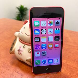 Pre owned iPhone 5C pink 8G UNLOCKED au model with charger Calamvale Brisbane South West Preview