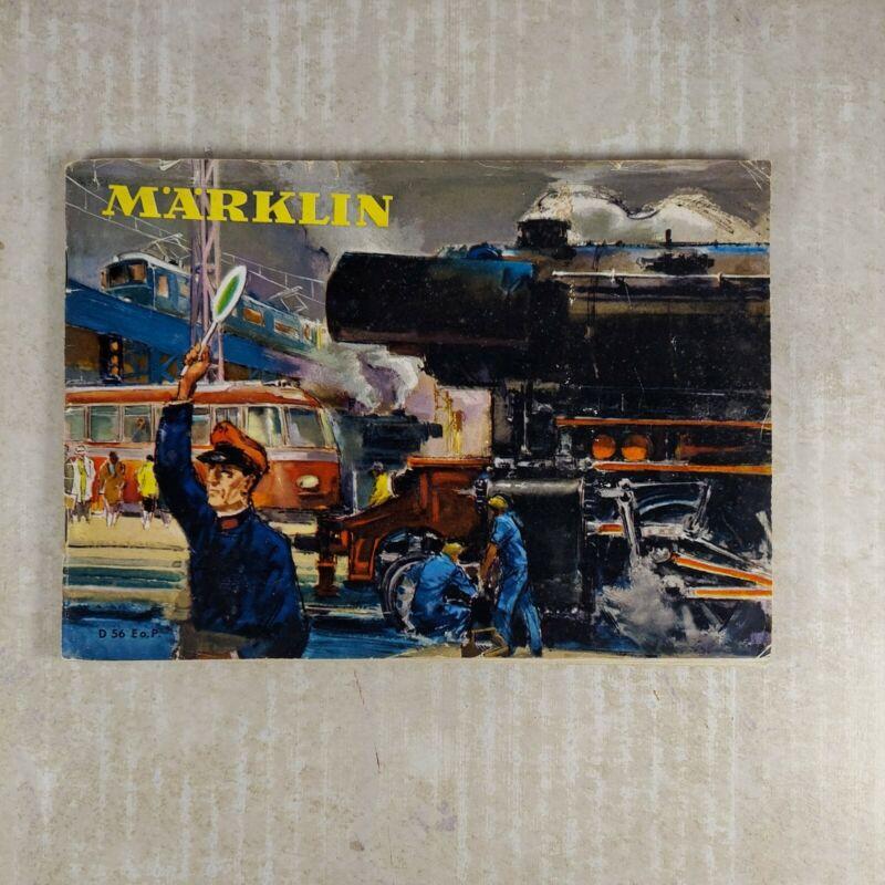 Marklin D 56 Eo.P. Catalog 1956 Model Railroads Trains 1956 English