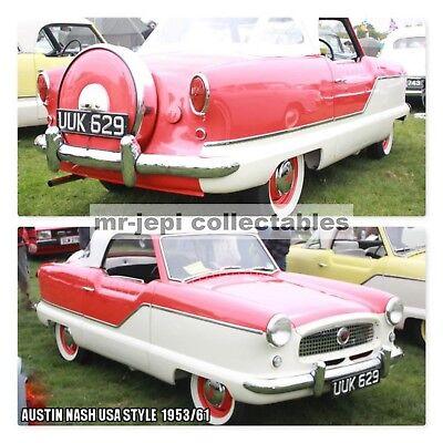 Austin USA Style  Nash / Red / 1953/61  Photo Fridge Magnet     90 mm  x  60 mm
