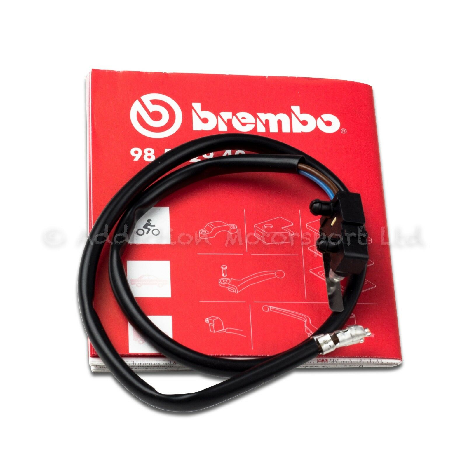 Ducati Brembo Front Brake Master Cylinder Microswitch Micro Switch Kit