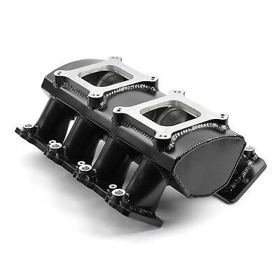 fits Chevy GM LS1 LS2 LS6 Fabricated EFI Twin Throttle Body Intake Manifold