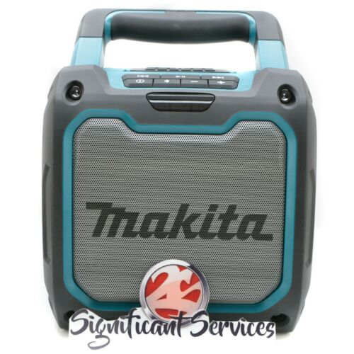 New Makita XRM08 18V 12V LXT Li-Ion Bluetooth Cordless Job Site Radio Speaker