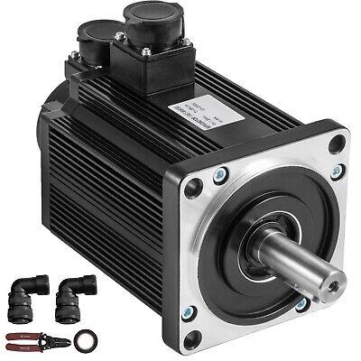 Servo Motor 1.8kw 6nm Ac Servo Cable Kit 220v F Cnc Mill Machine