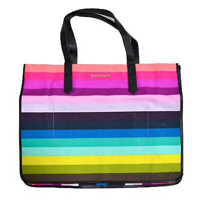 Victoria's Secret 2 Piece Tote Bag Set Getaway Beach Shopper Minor Imperfections