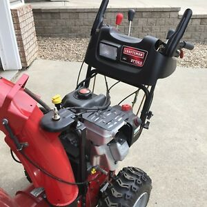 "BRAND NEW 27"" craftsman snow blower"