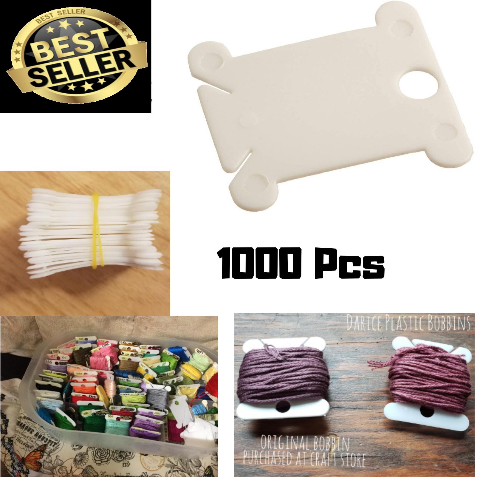 Plastic Floss Bobbins-28/Pkg