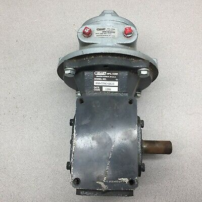 New No Box Gast Air Motor And Speed Reducer 4am-550c-aa10 4am-nrv-550c